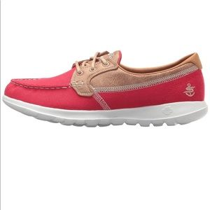 Skechers Go Walk Lite Boat Shoe